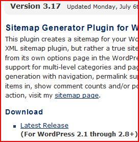 Dagon Design Sitemap Generator